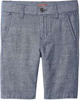 Joe Fresh Kid Boys' Chambray Short, Blue (Size L)