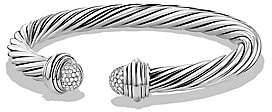 David Yurman Women's Cable Classics Bracelet with Diamonds