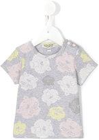 Kenzo logo print T-shirt - kids - Cotton/Spandex/Elastane - 9 mth