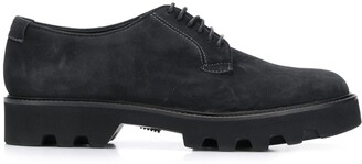 Emporio Armani smooth lace-up shoes
