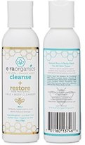 Alöe Era Organics Natural Face Wash Moisturizing Cleanser with Vera and Manuka Honey for Damaged and Sensitive Skin, 4 Ounce Bottle