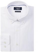 Original Penguin Solid Oxford Heritage Slim Fit Dress Shirt