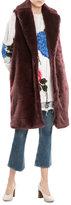 MSGM Faux Fur Vest