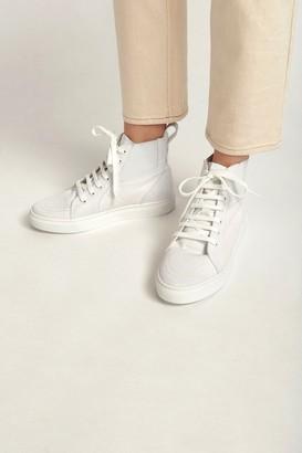 Thakoon Classic High Top Sneaker White