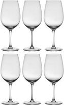 Vienna Set of 6 burgundy glasses 57cl