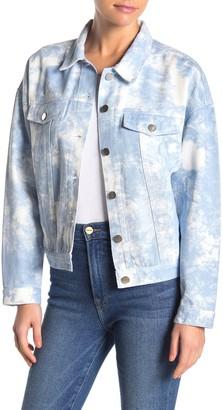Elodie K Tie Dye Denim Jacket