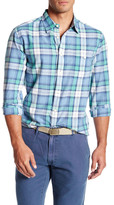 Faherty Seaview Long Sleeve Plaid Shirt