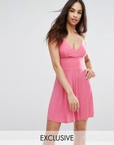 Club L Cami Strap Skater Dress