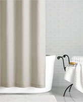 """Hotel Collection Linen 72"""" x 84"""" Extra Long Shower Curtain"""