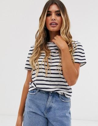 Pieces stripe t-shirt-Multi