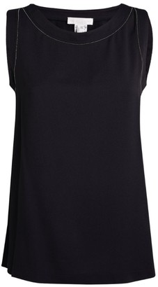 Fabiana Filippi Embellished Tank Top