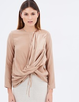 Gary Bigeni Valley Drape Top