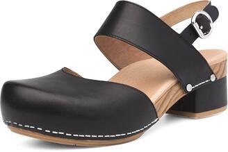 Dansko Women's Malin Black Sandal 11.5-12 M US
