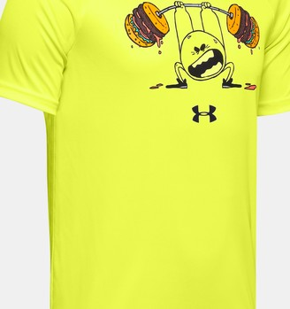 Under Armour Boys' UA Tech Burger Emoji Short Sleeve