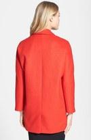 Topshop Oversized Snap Button Coat