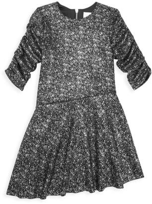 Zoe Girl's Delia Asymmetric Sparkle Dress