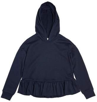 Soprano Navy Ruffle Sweatshirt