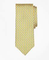 Brooks Brothers Tie Motif Print Tie