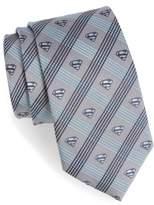 Cufflinks Inc. Men's Cufflinks, Inc. 'Superman' Plaid Silk Tie