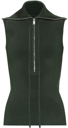 Peter Do Sleeveless ribbed top