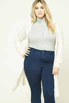 Forever 21 FOREVER 21+ Plus Size Open-Knit Cardigan