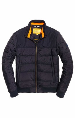 Superdry Men's Quilted International Jacket Coat