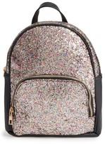 Girl's Omg Glitter Backpack - Black