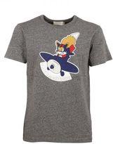 Kitsune Grey Airman T-shirt