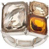 JLO by Jennifer Lopez Rectangular Stone Stretch Ring