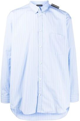 Balenciaga long sleeve Tab shirt