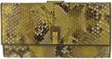 Saint Laurent Gold Wallet