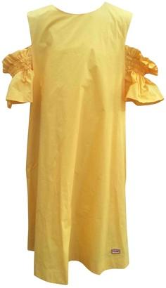 Fendi Yellow Cotton Dresses