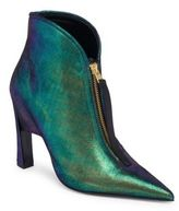 Marni Irredescent Hinge Leather Booties
