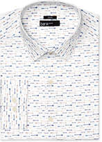 Bar III Men's Slim-Fit Stretch Easy Care Arrow Print Dress Shirt, Created for Macy's