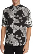 McQ by Alexander McQueen Sheehan Paisley Slim Fit Button-Down Shirt