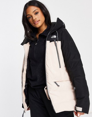 The North Face Pallie Down ski jacket in black