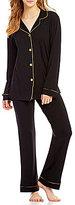 BedHead Metallic-Trimmed Classic Pajamas