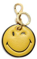 Anya Hindmarch Wink Face Leather Keychain