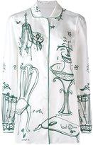 Dolce & Gabbana Garden print pyjama shirt