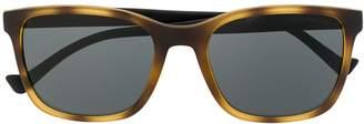 Emporio Armani wayfarer frame sunglasses