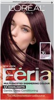 L'Oreal Feria Hair Color - 36 Chocolate Cherry (Deep Burgundy Brown)