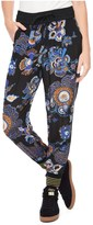 Juicy Couture Silk Romanov Floral Harem Pant