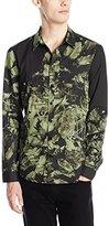 Clover Canyon Men's Tree House Poplin Button-Down Shirt