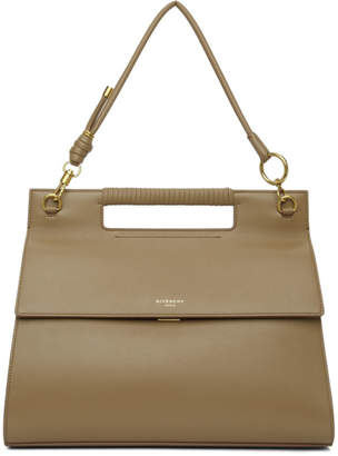Givenchy Taupe Large Whip Bag