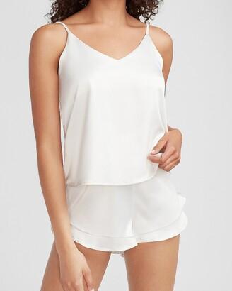 Express Satin V-Neck Pajama Cami