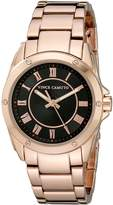 Vince Camuto Women's VC/5230BKRG Dial Rose Gold-Tone Bracelet Watch