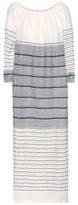 Lemlem Almaz Off-the-shoulder Cotton Maxi Dress