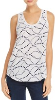 Equipment Star Print Silk Tank - 100% Exclusive