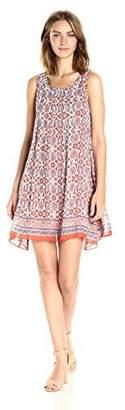 Max Studio Women's Printed Sleeveless GGT Dress