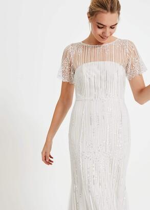 Phase Eight Leonora Sequin Bridal Dress